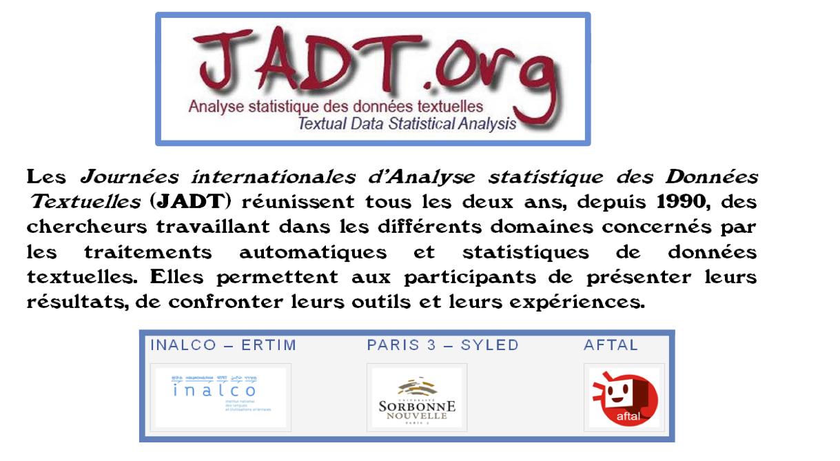 Programme JADT2014